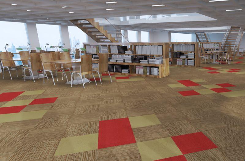 Thảm tấm trải sàn T1-14 & T1-15