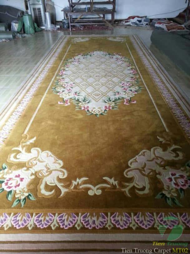 Thảm dệt tay phòng khánh tiết