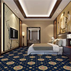 Thảm khách sạn DS80-6-Blue-80X80