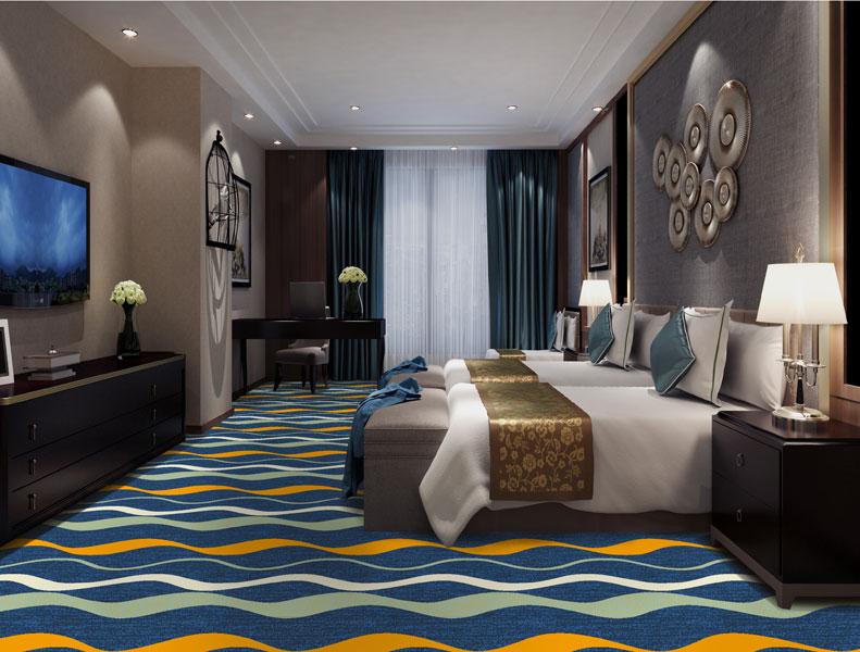 Thảm khách sạn DS80 6 Light Blue   Tham trai san