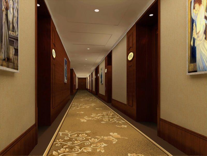 Thảm trải sàn hành lang màu sáng HL0D4738-A66 BG
