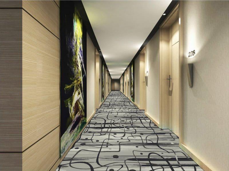 Thảm trải sàn hành lang màu sáng HL0E3048-A60 BG