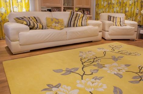 Thảm trải sàn phòng khách