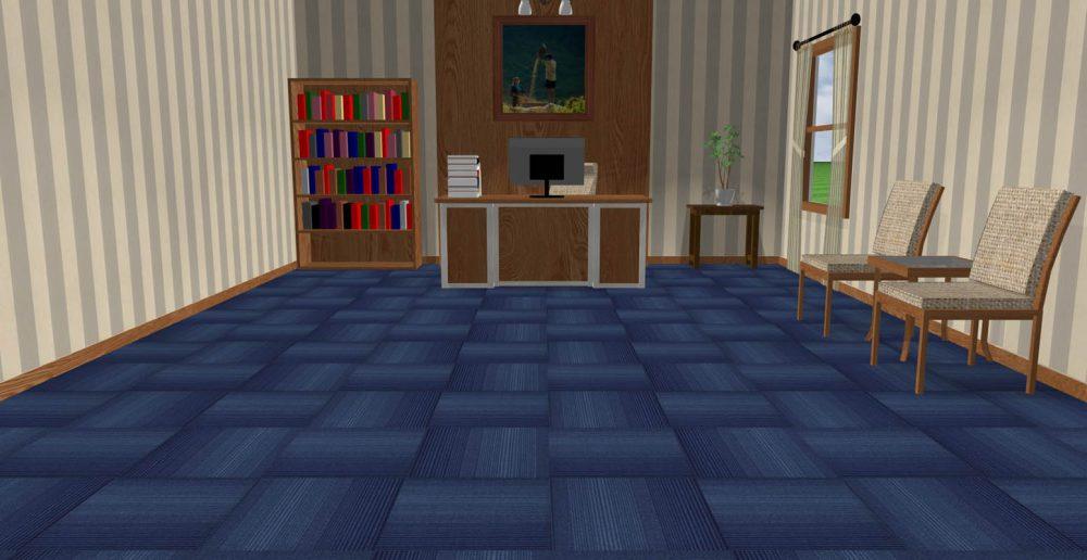 Thảm tấm ART S1 Blue