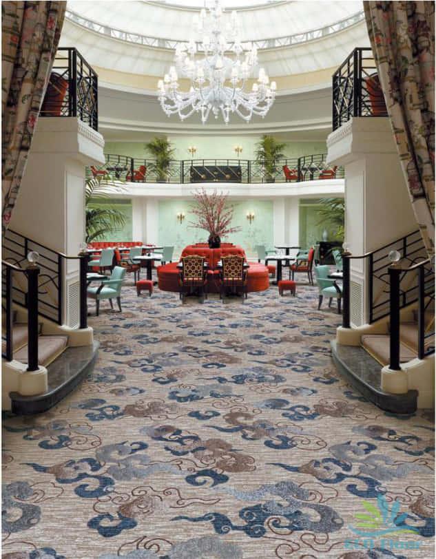 Thảm lót sàn khách sạn