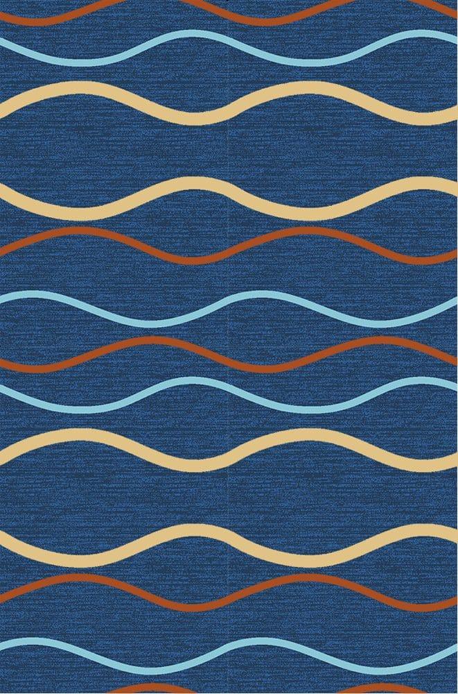 Thảm trải sàn màu tối Sea Blue