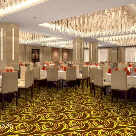 Thảm Khách Sạn hoa vàng WL-2536