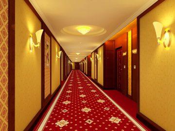 Thảm hành lang khách sạn 3697