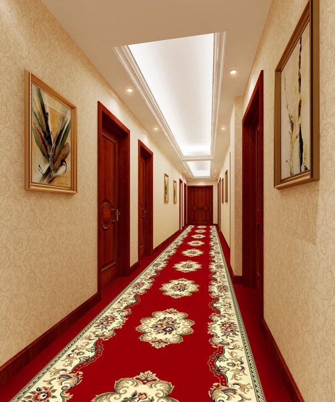 Thảm hành lang khách sạn 813