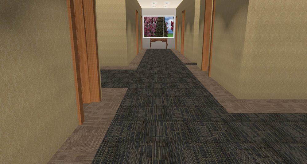 Thảm tấm AS 314 - thảm văn phòng cao cấp
