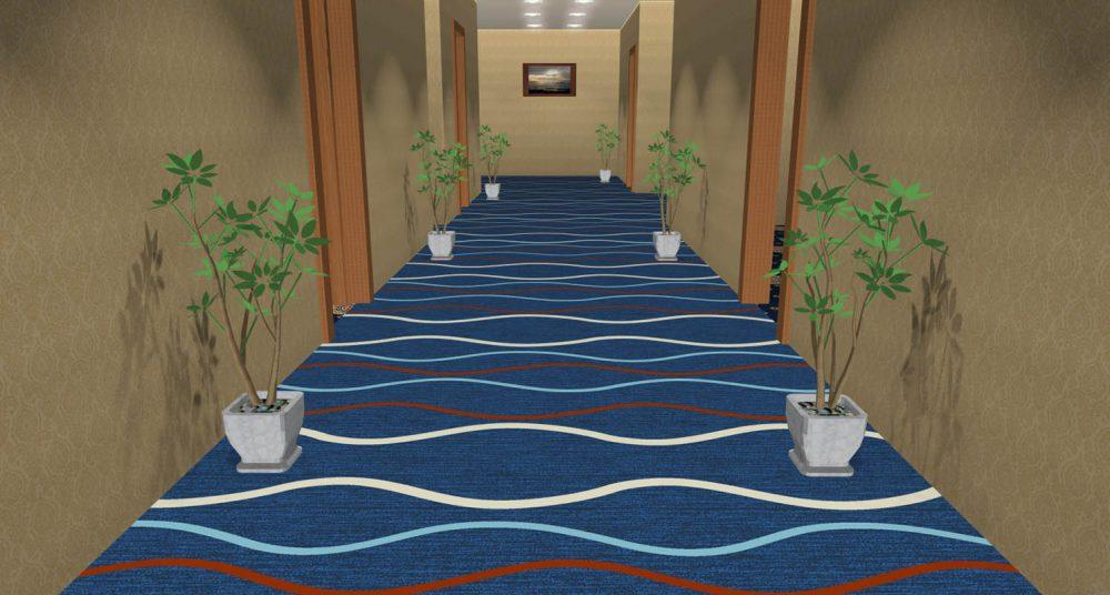 Thảm khách sạn DS60-6 Sea Blue