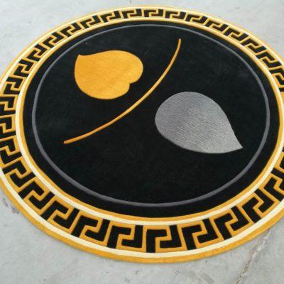 Tham logo hinh tron