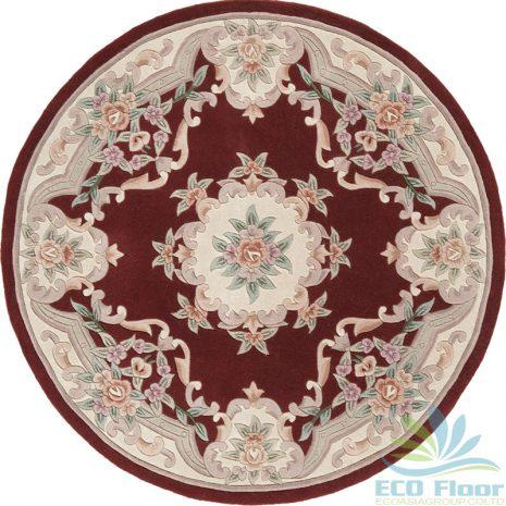 Mẫu thảm trải sàn hình tròn   Tham trai san