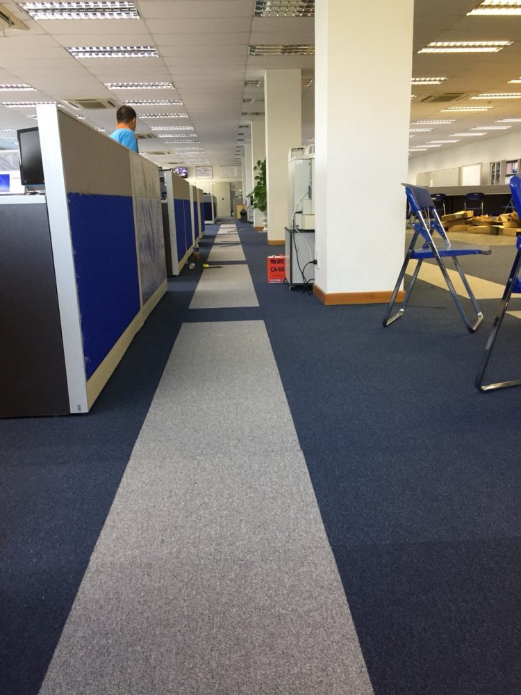 Thảm văn phòng Sato T1-01& T1-09