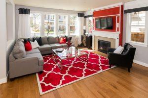 Thảm trải sàn phòng khách - Tiến Trường Carpet